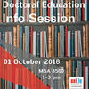 Doctoral Education and Training Information session