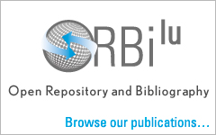 Visit orbilu.uni.lu, the Open Repository and Bibliography of the University of Luxembourg