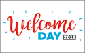 Join us during Welcome Day 2018 on Friday, 14 September 2018