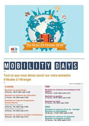 Poster Mobility Days 2018