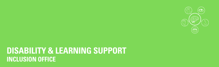 Disability & Learning Support (Inclusion)