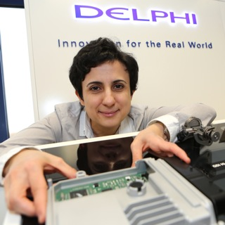 Shiva Nejati improves electronic control units with automotive supplier DELPHI