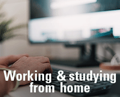 Remote work and study